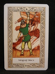 King of Discs. (Oxford77) Tags: tarot thenorsetarot norse viking vikings cards card tarotcards