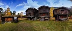 Flåm (Kari Siren) Tags: old log barn autumn norway