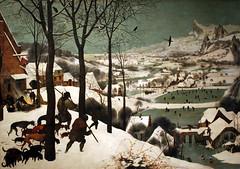 The Hunters in the Snow (1565) (Wolfgang Bazer) Tags: pieter bruegel elder der ältere jäger im schnee hunters snow winter kunsthistorisches museum wien vienna österreich austria renaissance