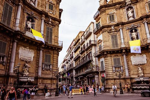 Sizilien 2018 - Palermo - Quattro Canti
