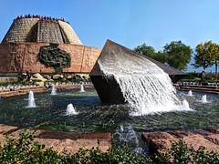 Fountain at Tanzi Ling Park Three Gorges Dam Yichang China 03 (Barbara Brundage) Tags: fountain tanzi ling park three gorges dam yichang china 03