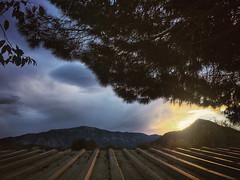 A hot tin roof (VillaRhapsody) Tags: sunrise autumn dawn kayaköy fethiye rural field babadag sun light roof shine
