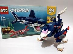 Lego 31088 3rd alternative build - Zoids (c_s417) Tags: amoc alternate bricks mech 索斯機械獸 creator ゾイド shark