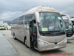 "2018 031008 VOLVO B11R EURO6 IRIZAR i6 COACH VERNE HERMES BUS MADRID 58 5317 JYK IN NERJA (Andrew Reynolds transport view) Tags: europe spain andalucia transport bus coach transit passenger omnibus diesel ""mass transit"" 2018 031008 volvo b11r euro6 irizar i6 verne hermes madrid 58 5317 jyk in nerja"