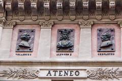 relieves edificio del Ateneo de Madrid calle del Prado (Rafael Gomez - http://micamara.es) Tags: ateneo esp españa madrid relieves edificio del de calle prado barrio las letras
