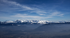 Lans en Vercors (Garry Shu) Tags: france french mountains montagnes blue bleu sky bluesky clouds nuages nature photography art instagram snow neige hiking sightseeing randonnée landscape