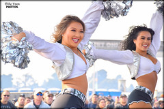 2018 Oakland Raiderettes Helina & Madyson (billypoonphotos) Tags: portrait stadium 2018 grass sign sport 18140 18140mm billypoonphotos dancers coliseum people team squad women ladies girls pretty photographer photography picture photo black silver billypoon lens mm nikkor d5500 nikon dancer dance cheerleading cheerleaders females fabulous football nfl raidernation nation raider raiderettes raiderette raiders oakland raiderville salute service helina madyson