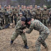 U.S., Japanese service members demonstrate martial arts techniques during exercise Forest Light