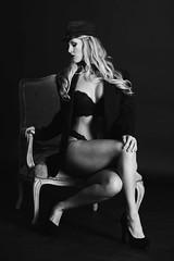 322A2967BWS (Sundance Photos) Tags: blackwhite blancoynegro blackandwhite beauty bw bnw boudoir lingerie legs woman women sundance sundancephotos sexy schwarzweis sensual bra blonde monochrome portrait blackbackground sitting