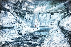 winter snow ice frozen waterfall minneapolis mn (Dan Anderson.) Tags: frozen waterfall winter ice blue minnehahafalls minnehahapark cold water minneapolis mn minnesota polarvortex