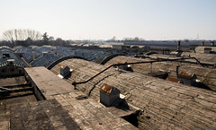 Overview (The Urban Tourist) Tags: urbex industrial abandonedfactory urbanexploration abandoned roof textilefactory