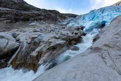 Nigardsbreen, Norway (Foto-Wandern.com) Tags: norwegen nigardsbreen norway scandinavia skandinavien ice water waterfall glacier blue mountains mountain fotoreise fotoreisen fotowanderncom sky jostedalsbreen