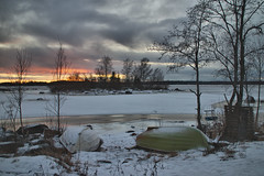 IMG_0125 (TeroH67) Tags: maisema ranta talvi auringonlasku kalajoki