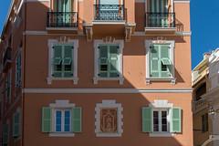 Colourful Facade, Monaco (Peter Cook UK) Tags: france colourful 2019 monaco facade