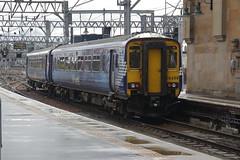 156499 (Rob390029) Tags: scotrail class 156 156499 glasgow central railway station glc train