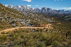 Apache Trail (CThomasCaldwell) Tags: 5dmk3 apachetrail arizona ef24105f4is desert mountains snow