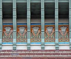 Art Nouveau detail (Shahrazad26) Tags: antwerpen antwerp anvers belgië belgium belgique vlaanderen artnouveau jugendstil architectuur architecture zurenborg