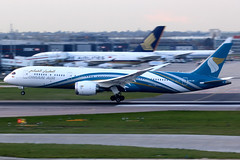 Oman Air | Boeing 787-9 | A4O-SF | London Heathrow (Dennis HKG) Tags: omanair oman oma wy aircraft airplane airport plane planespotting canon 7d 100400 london heathrow egll lhr boeing 787 7879 boeing787 boeing7879 dreamliner a4osf