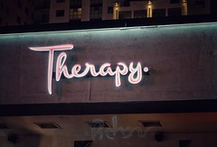 Therapy (podolux) Tags: oneword onewordtherapy font fontspotting 2019 april2019 sony sonya7 a7 sonyilce7 ilce7 therapy lasvegas nevada nv clarkcounty sign signs neonsign neon