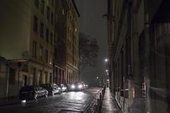 . (Le Cercle Rouge) Tags: lyon france night nuit darkness light shadows silhouettes humans croixrousse traboules lumière rue street urbain urban city lueur brillant asphalte asphalt luisant shiny