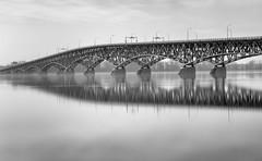 North Grand Island Bridge (Jack Landau) Tags: i190 western new york north grand island bridge infrastructure niagara river long exposure daytime daylight water highway interstate canon 5d jack landau