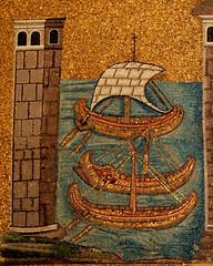 Ravenna - Sant'Apollinare Nuovo 12 (antonella galardi) Tags: emilia romagna ravenna 2018 natale mosaici paleocristiano bizantino santapollinarenuovo chiesa