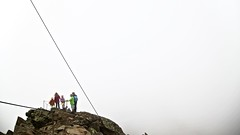 Hochgurgel - Wurmkogel 3082 m - familiy on top (MLe Dortmund) Tags: bere berge mountain ötztal hochgurgel wurmkogel wolken sky clouds leer familie weis austria