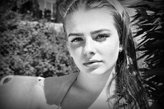 Hey Baby (plot19) Tags: kassiopi greece greek olivia love light liv plot19 photography portrait people blackwhite blackandwhite nikon now teenager daughter family hey baby corfu