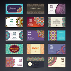 Business Card. Vintage decorative elements. Ornamental floral business cards or invitation with mandala (albanfeti) Tags: card business name vintage flower mandala wedding arabic banner decoration element ethnic floral frame henna identity indian invitation motive ornament paper pattern retro style template tribal web turkish pakistan abstract abstraction background black circle cover design islam meditation motif mystical ottoman paganism phone print round site tattoo vector yoga snowflake letter layout stationery designs branding visiting lightbrown transparent diamond dark abstractlogo
