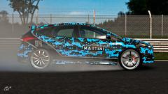 Ford Focus ST Martini Camo (nbdesignz) Tags: ford focus st martini camo gran turismo sport nbdesignz nbdesignz84 nbdesignz1284 car cars camouflage blue