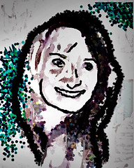 Le carnet de Mimi (chartan) Tags: paintx touchpad photoshop digital portrait jkpp
