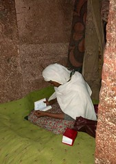 Ethiopia (Lalibela) Ethiopian prayers in rock churches (ustung) Tags: architecture ethiopian prayer interior rock chuch lalibela ethiopia