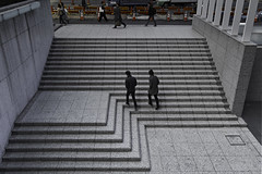 sdqH_190203_C (clavius_tma-1) Tags: sd quattro h sdqh sigma 1224mm f4 dg hsm art 西新宿 nishishinjuku 東京 tokyo 青梅街道 新宿野村ビル nomurabuilding 階段 stairs