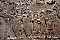 Assyrian soldiers (calmeilles) Tags: london england unitedkingdom ashurbanipal britishmuseum assyria ancienthistory archaeology middleeast nineveh