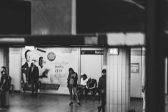 Station (Jontsu) Tags: station germany deutschland munich munchen europe nikon d7200 50m bw black white street streetphotography people