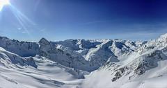 Stubai Glacier (Andy.Gocher) Tags: andygocher iphone6s europe austria stubai glacier mountains alps snow winter sunshine bluesky