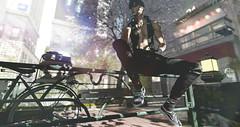 Slayer †547 (✞Slayer Tanaka✞) Tags: nativeurban shoes fashion tmd straydog skin bento catwa modulus hair arcback pants joggers tokyo wrongtheowl estorm hipstermen hipstermensevent