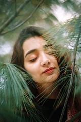 вањушка (jovana_damnjanovic) Tags: film petrigx1 kodak 50mm portrait girl woods winter 2019