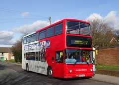 National Express West Midlands Dennis Trident 2/Alexander ALX400 4362 (BX02 AVV) (Liam1419) Tags: bx02avv 4362 alexanderalx400 dennistrident2 nationalexpresswestmidlands