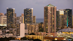 View towards Kakaako