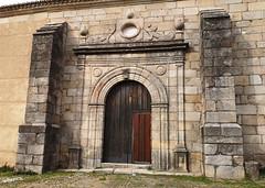 portada exterior Iglesia de la Asuncion de Granadilla Caceres 01 (Rafael Gomez - http://micamara.es) Tags: portada exterior iglesia de la asuncion granadilla caceres