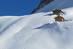 Bianco Ahrntal (ANNA ALESI) Tags: ahrntal valleaurina casere predoi prettau kasern altoadige trentinoaltoadige italia italy inverno neve baite