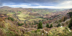 Cwm Pennant (Ffotograffiaeth Dylan Arnold Photography) Tags: cwm cwmpennant valley panorama panoramic trees wideangle spring llanfihangel landscape snowdonia eryri nature countryside rural bucolic outside outdoors wales cymru river dwyfor hills mountains fields meadows green valleys farms farming welsh unning