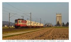 "Re 4/4"" 11109 - Hendschiken (CC72080) Tags: re44 re420 cargo swiss express hendschiken locomotive lokomotive zug güterzug train bobo"