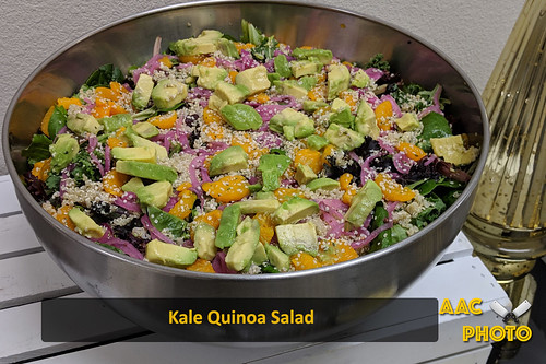 """Kale Quinoa Salad • <a style=""""font-size:0.8em;"""" href=""""http://www.flickr.com/photos/159796538@N03/47260840022/"""" target=""""_blank"""">View on Flickr</a>"""