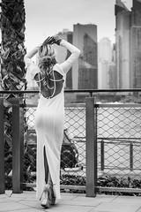 Andrea NB-33 (Willy_G91) Tags: vert andrea model fashion portrait girl woman pretty beautiful cute gorgeous sexy stunning outside outdoors nikon d610 photoshoot colour duba black white noir blanc noirblanc blackwhite bnw