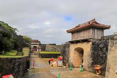 Kyukeimon 久慶門 (YY) Tags: shuricastle okinawa japan ryukyu ryukyukingdom castle naha 首里城 那霸 琉球 琉球王國 日本 沖繩 gate wall