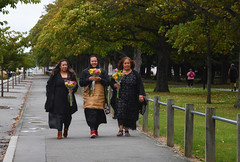 Flower Girls (M J Adamson) Tags: memorial mosqueshooting christchurchmosqueshooting christchurchmosqueterrorattacks christchurch canterbury nz newzealand people