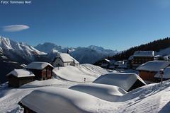 Bettmeralp (tomsneri) Tags: bettmeralp aletsch matterhorn neve inverno svizzera schnee winter wallis schweiz cervino paesaggio montagna villaggio alpi panorama