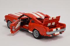 '65 Ford Mustang GT (7) (Dornbi) Tags: lego ford mustang gt 65 115